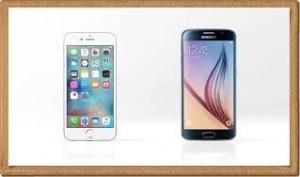 iphone6 galaxy6s