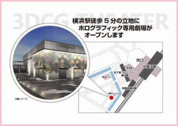 横浜のDMMVRシアターのホログラフィック公演は『AR』ではないのか?という疑問