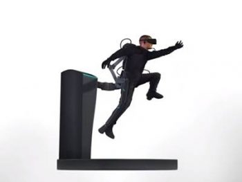 ゲーム内で歩く、触れる、跳ぶ!Axon VRのハプティクス技術