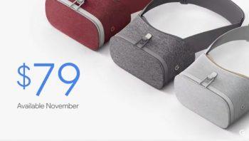 【Daydream View】Google発表のオシャレな新型VRヘッドセットの価格、発売日など