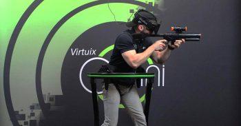 VR歩行デバイス『Omni』が飯田橋で誰でも体験可能に!価格・性能について
